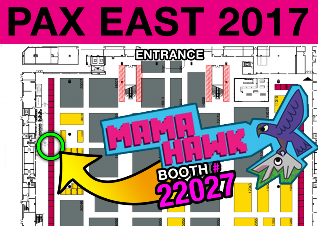 Mama Hawk at Pax East 2017