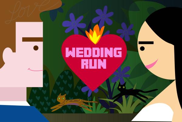 Custom wedding game