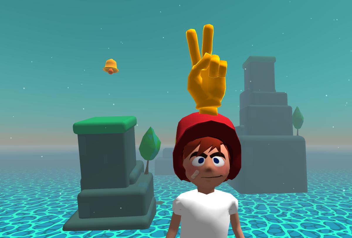 5 New levels, Cloud blocks, Animated Hand.